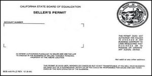 how to get a sellers permit in california
